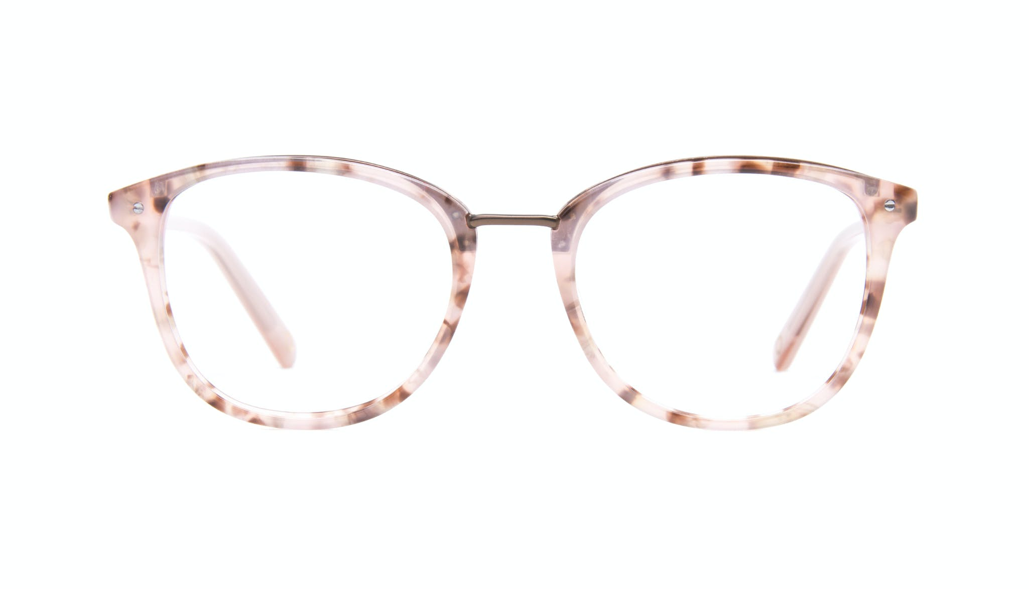 Affordable Fashion Glasses Square Round Eyeglasses Women Bella Blush Tortie