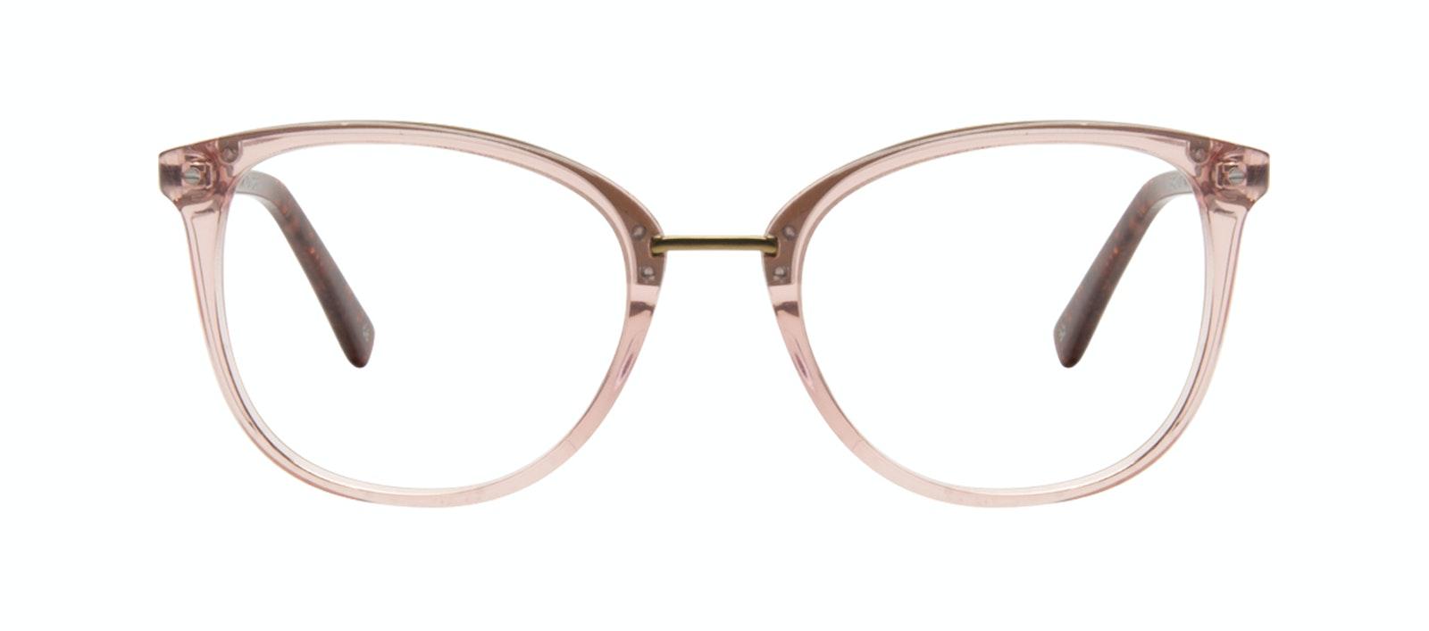 6394d10f3b51e Affordable Fashion Glasses Square Round Eyeglasses Women Bella Rose Front