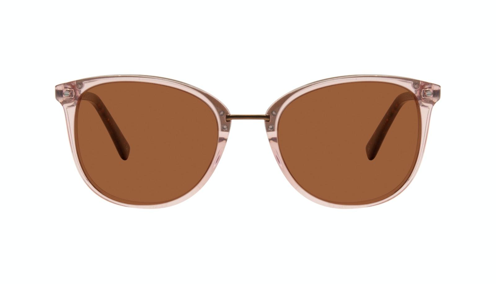 Affordable Fashion Glasses Square Round Sunglasses Women Bella Rose