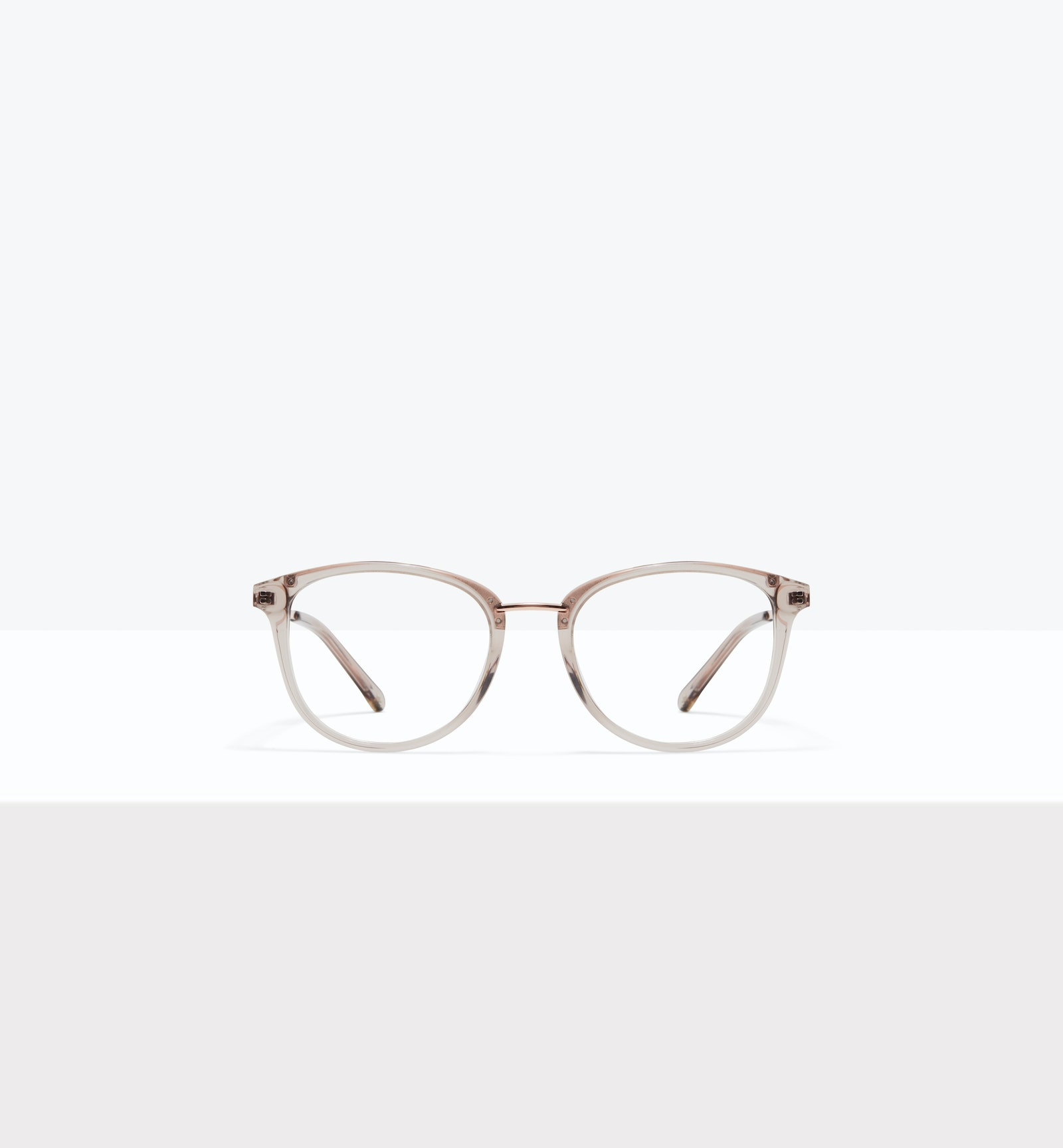 Affordable Fashion Glasses Square Round Eyeglasses Women Bella XS Sand