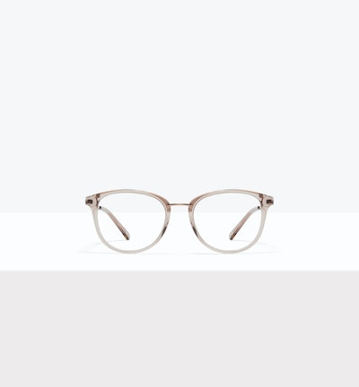 Affordable Fashion Glasses Square Round Eyeglasses Women Bella XS Sand Front