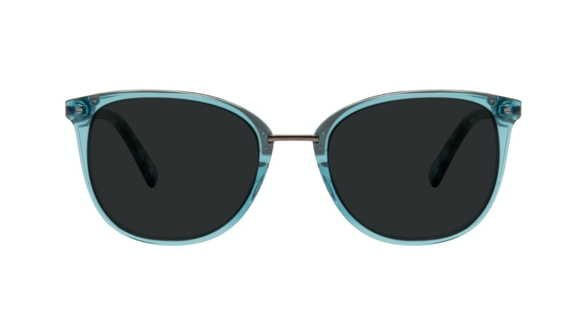 Affordable Fashion Glasses Square Round Sunglasses Women Bella Teal