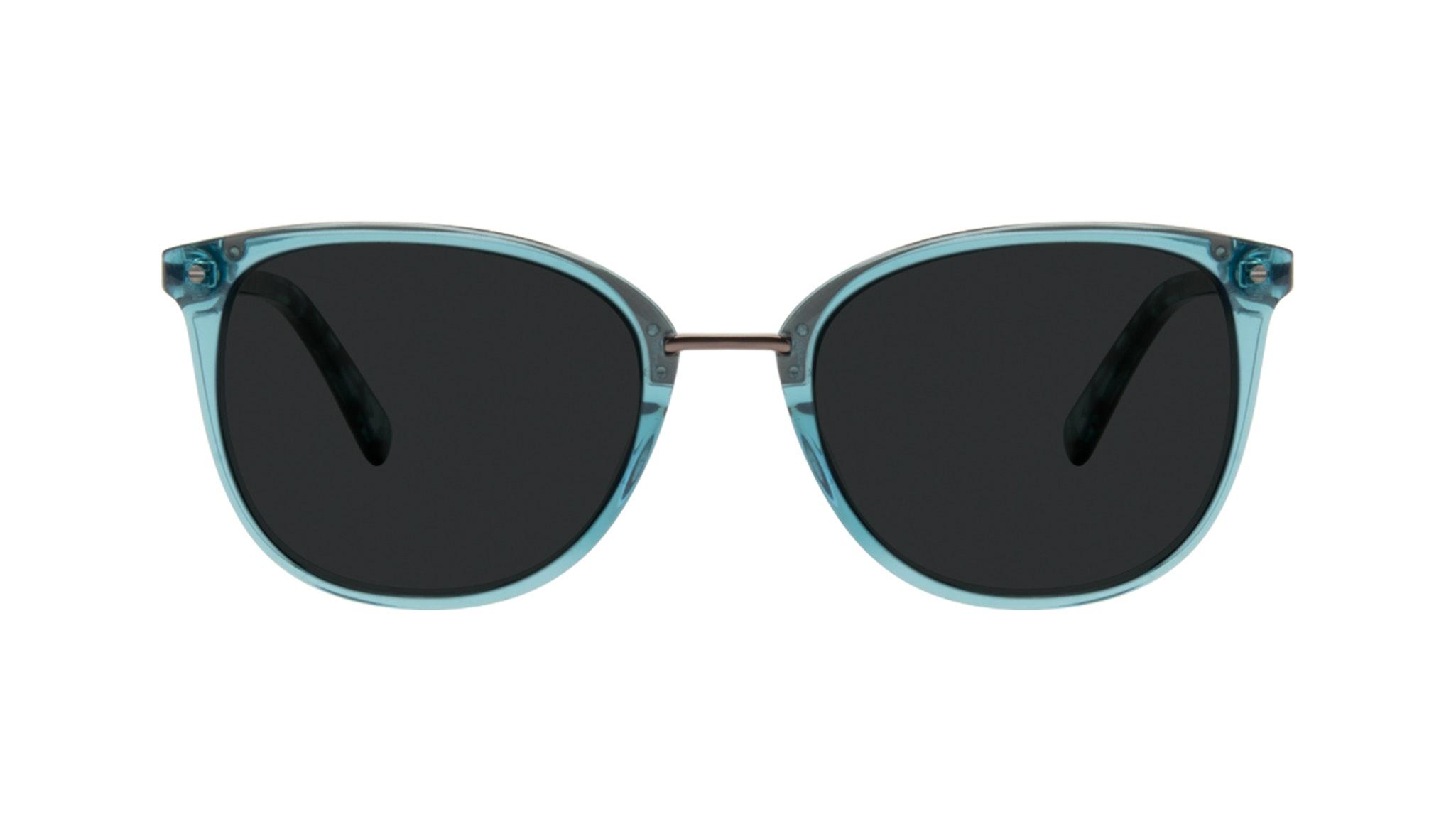 Affordable Fashion Glasses Square Round Sunglasses Women Bella Teal