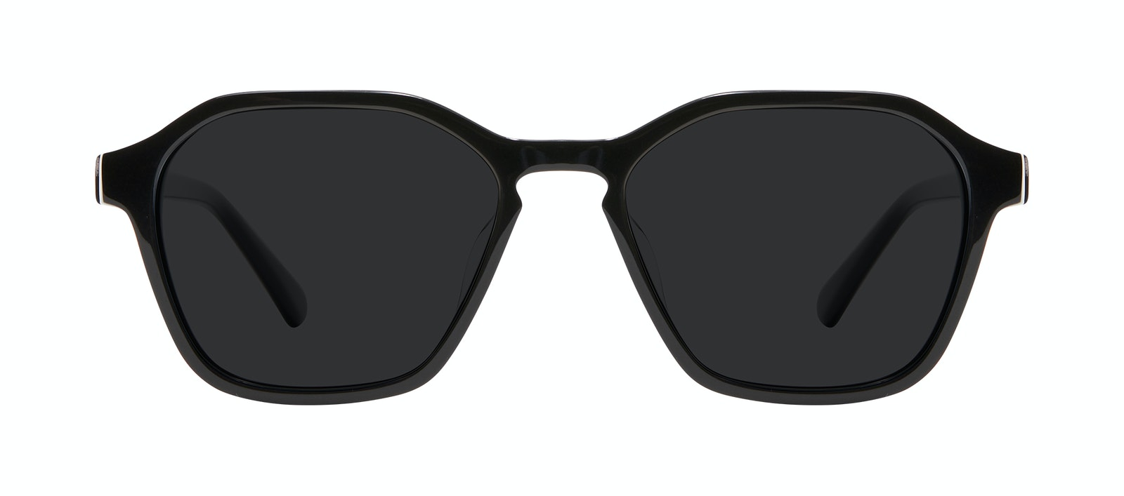 Affordable Fashion Glasses Square Sunglasses Men Birdie Black Front