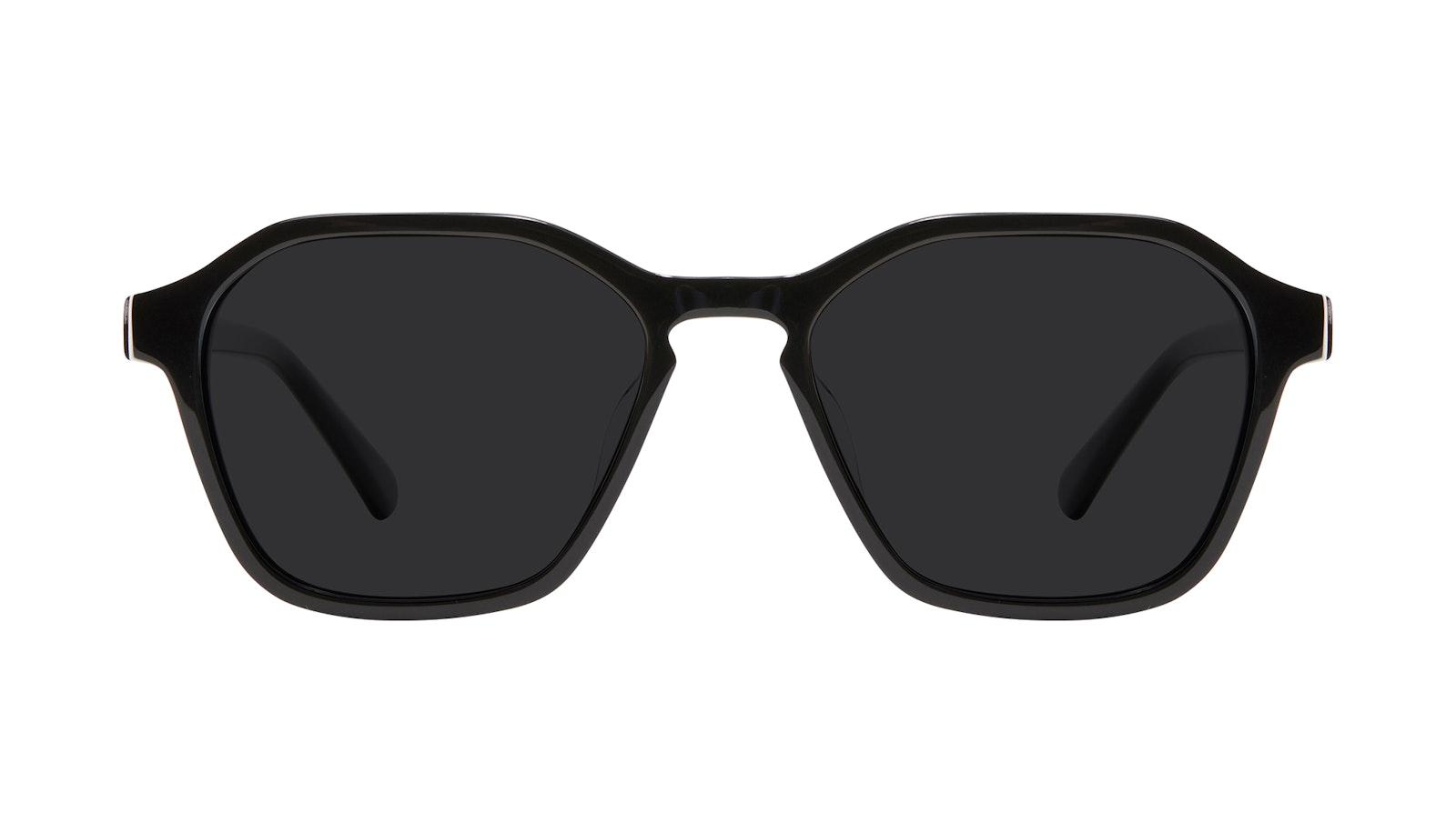 Lunettes tendance Carrée Lunettes de soleil Hommes Birdie Black