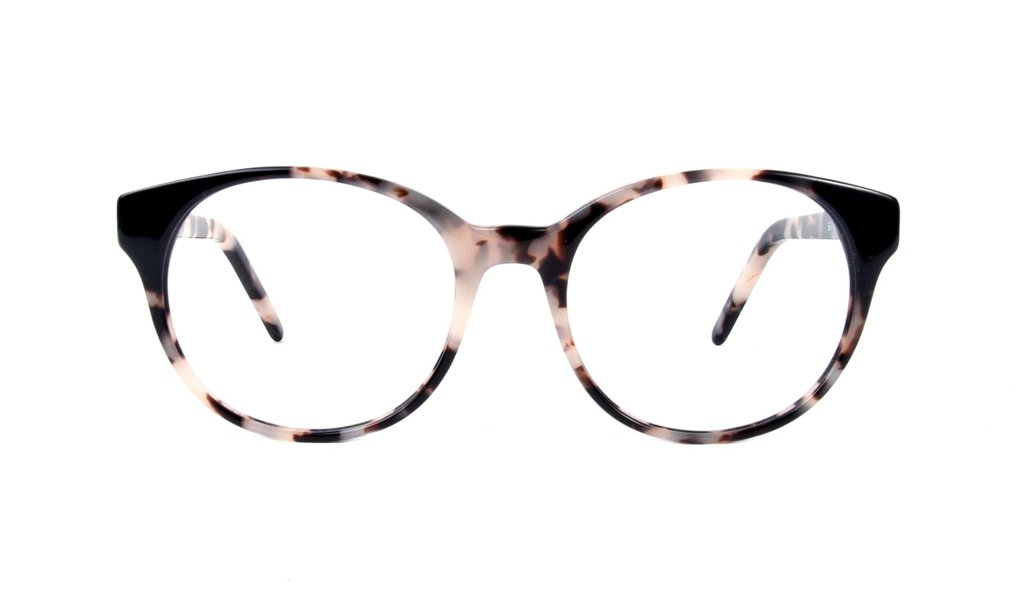 Affordable Fashion Glasses Round Eyeglasses Women Bis Granite Onyx Front