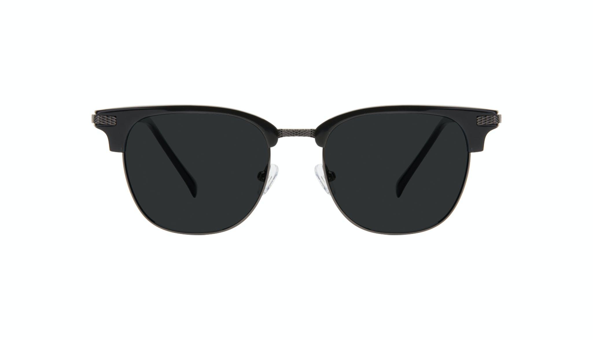 Affordable Fashion Glasses Square Sunglasses Men Blacktie Onyx Front