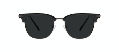Affordable Fashion Glasses Square Sunglasses Men Blacktie Onyx Front