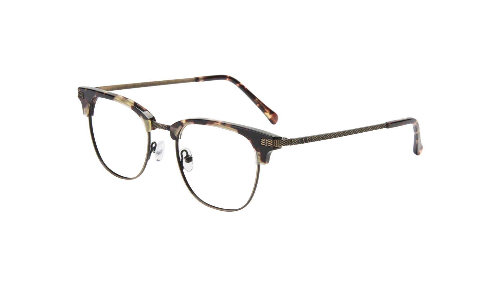 Affordable Fashion Glasses Square Eyeglasses Men Blacktie Antique Tort Tilt