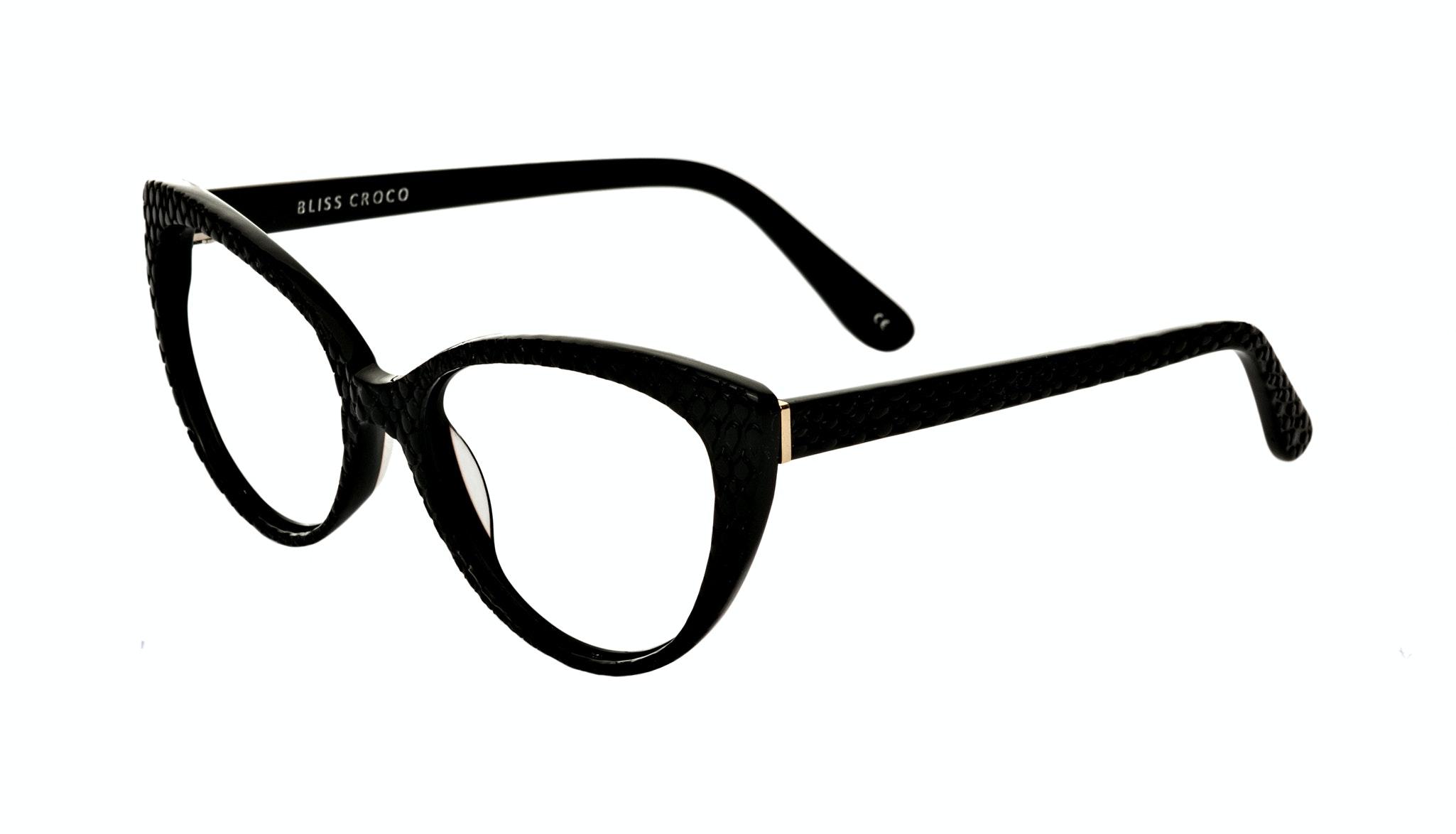 Affordable Fashion Glasses Cat Eye Eyeglasses Women Bliss Croco Tilt
