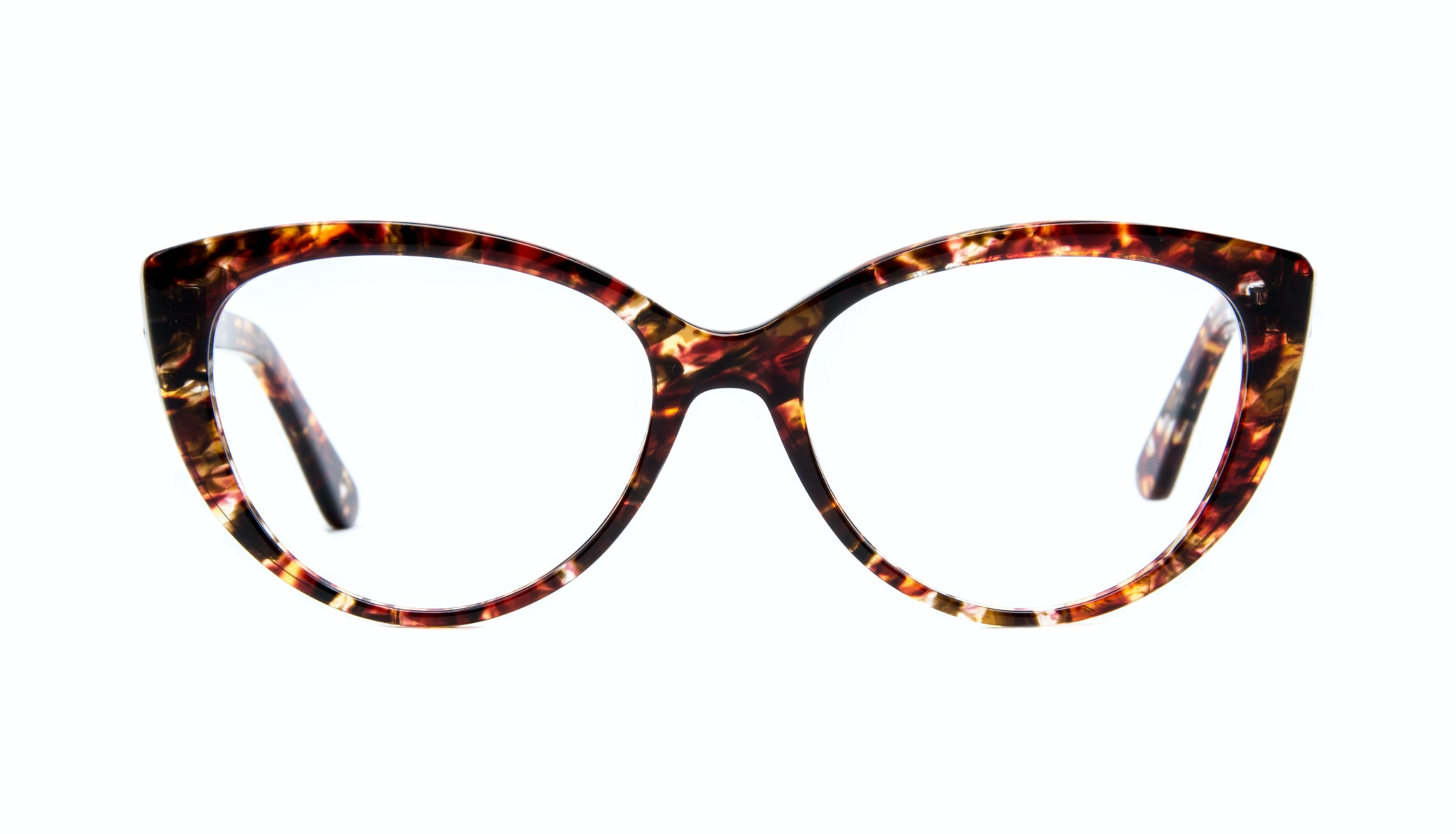 Affordable Fashion Glasses Cat Eye Eyeglasses Women Bliss lava Front