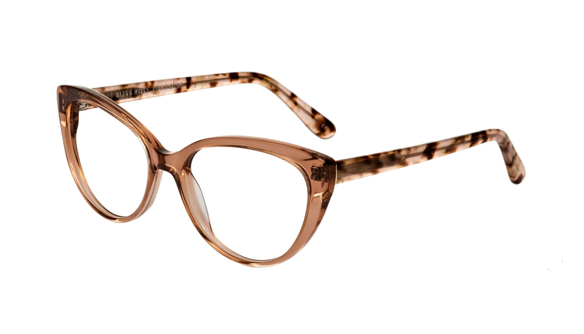 Affordable Fashion Glasses Cat Eye Eyeglasses Women Bliss Rose Tortoise Tilt
