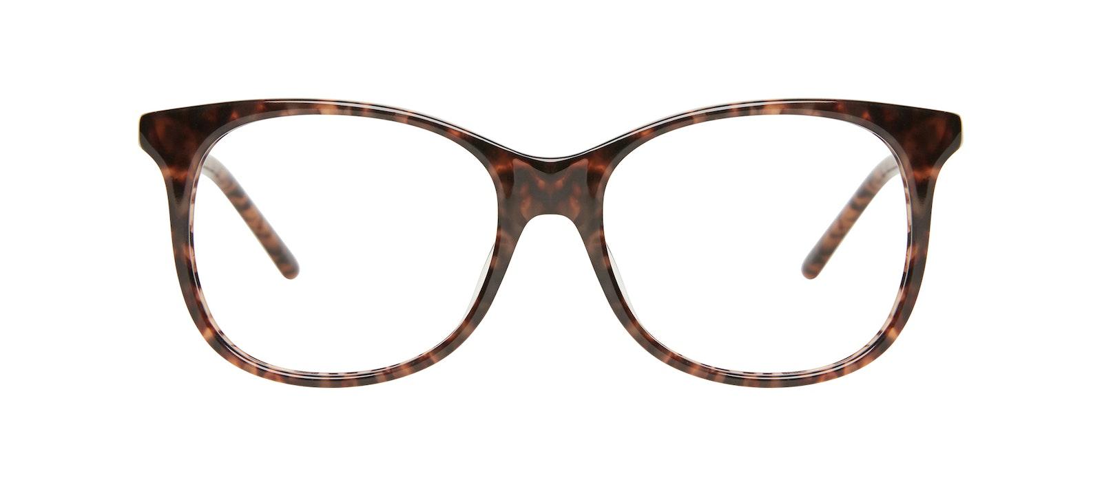 Affordable Fashion Glasses Square Eyeglasses Kids Bloom Junior Leopard Front
