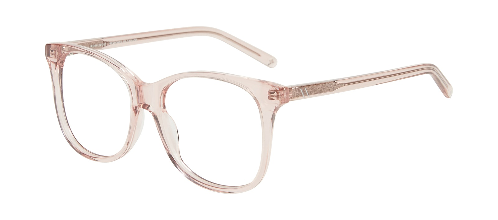 Affordable Fashion Glasses Square Eyeglasses Women Bloom Pink Tilt