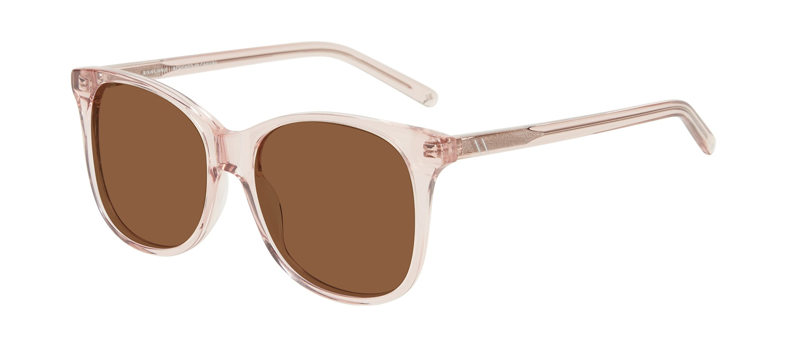 Affordable Fashion Glasses Square Sunglasses Women Bloom Pink Tilt