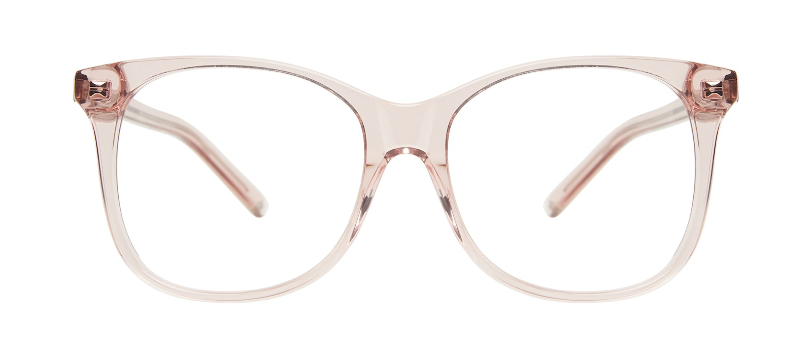 Affordable Fashion Glasses Square Eyeglasses Women Bloom Pink Front