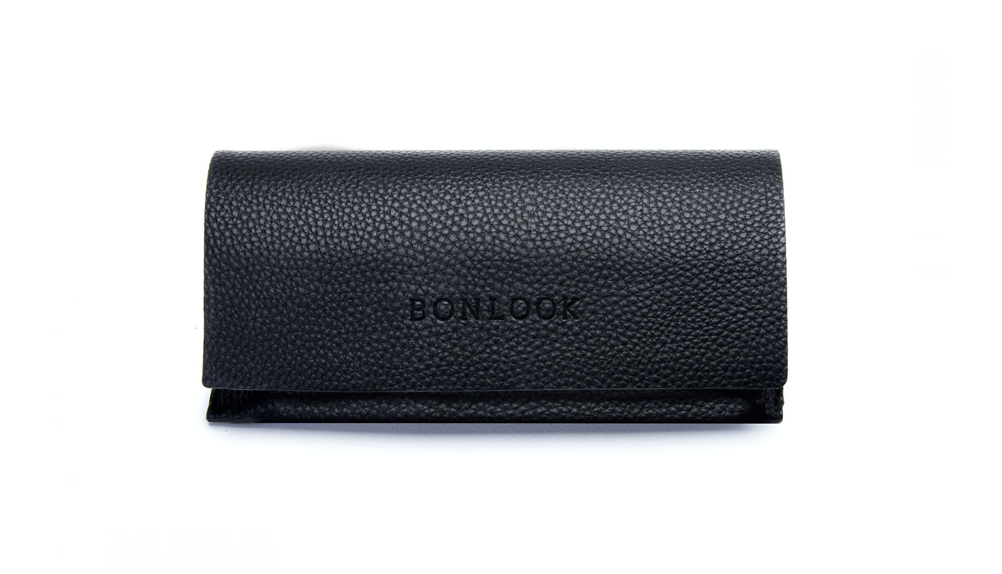 Affordable Fashion Glasses Accessory Men Women Luxe Case Black Front