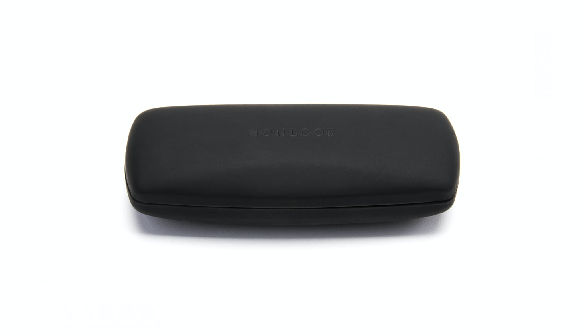 Affordable Fashion Glasses Accessory Men Women BonLook Case Black Front