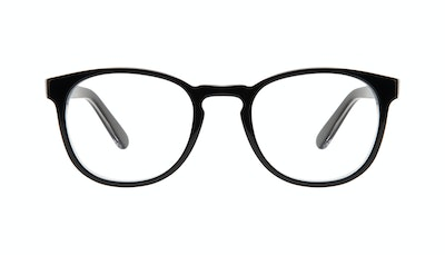 Affordable Fashion Glasses Round Eyeglasses Men Boreal Black Ice Front