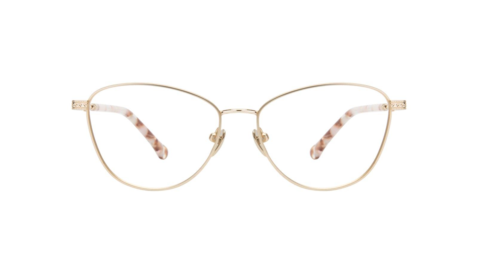 f4e6f9a8f4d4 Affordable Fashion Glasses Cat Eye Eyeglasses Women Bow Golden Quartz