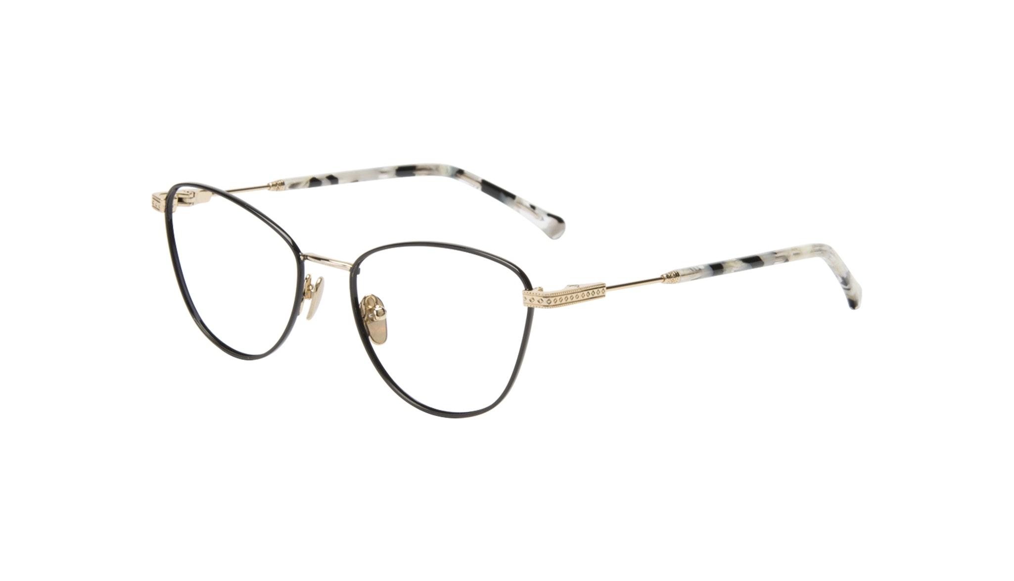 Affordable Fashion Glasses Cat Eye Eyeglasses Women Bow Onyx Marble Tilt