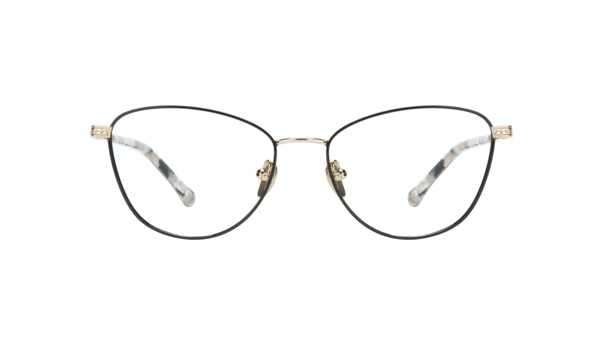 Affordable Fashion Glasses Cat Eye Eyeglasses Women Bow Onyx Marble Front