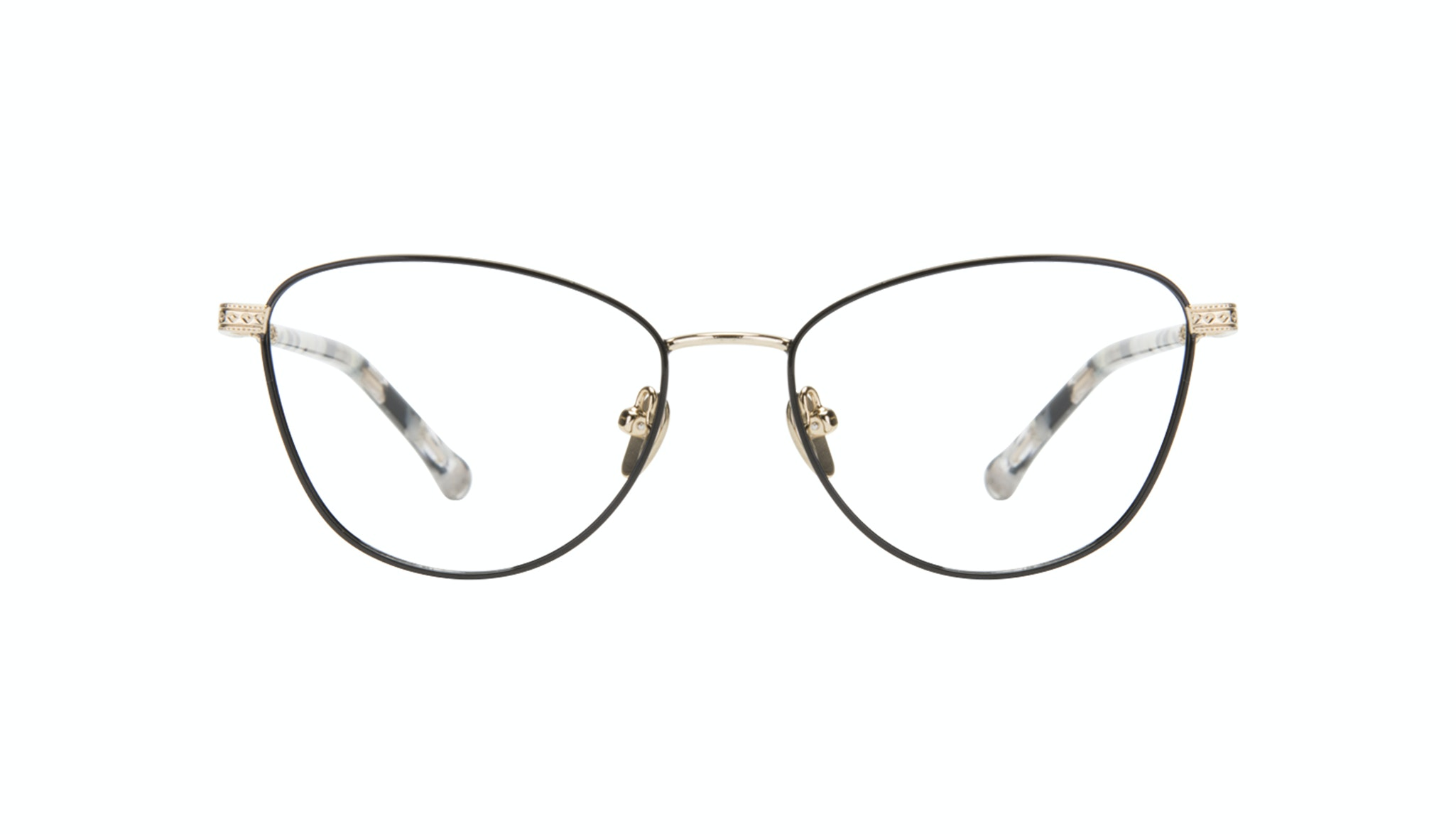 Affordable Fashion Glasses Cat Eye Eyeglasses Women Bow Onyx Marble