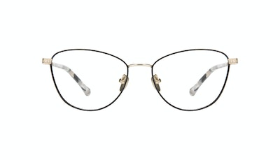 Affordable Fashion Glasses Cat Eye Eyeglasses Women Bow Onyx Marble Front