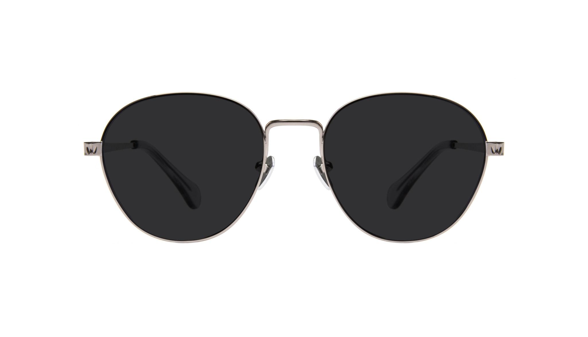 Affordable Fashion Glasses Round Sunglasses Women Brace Silver