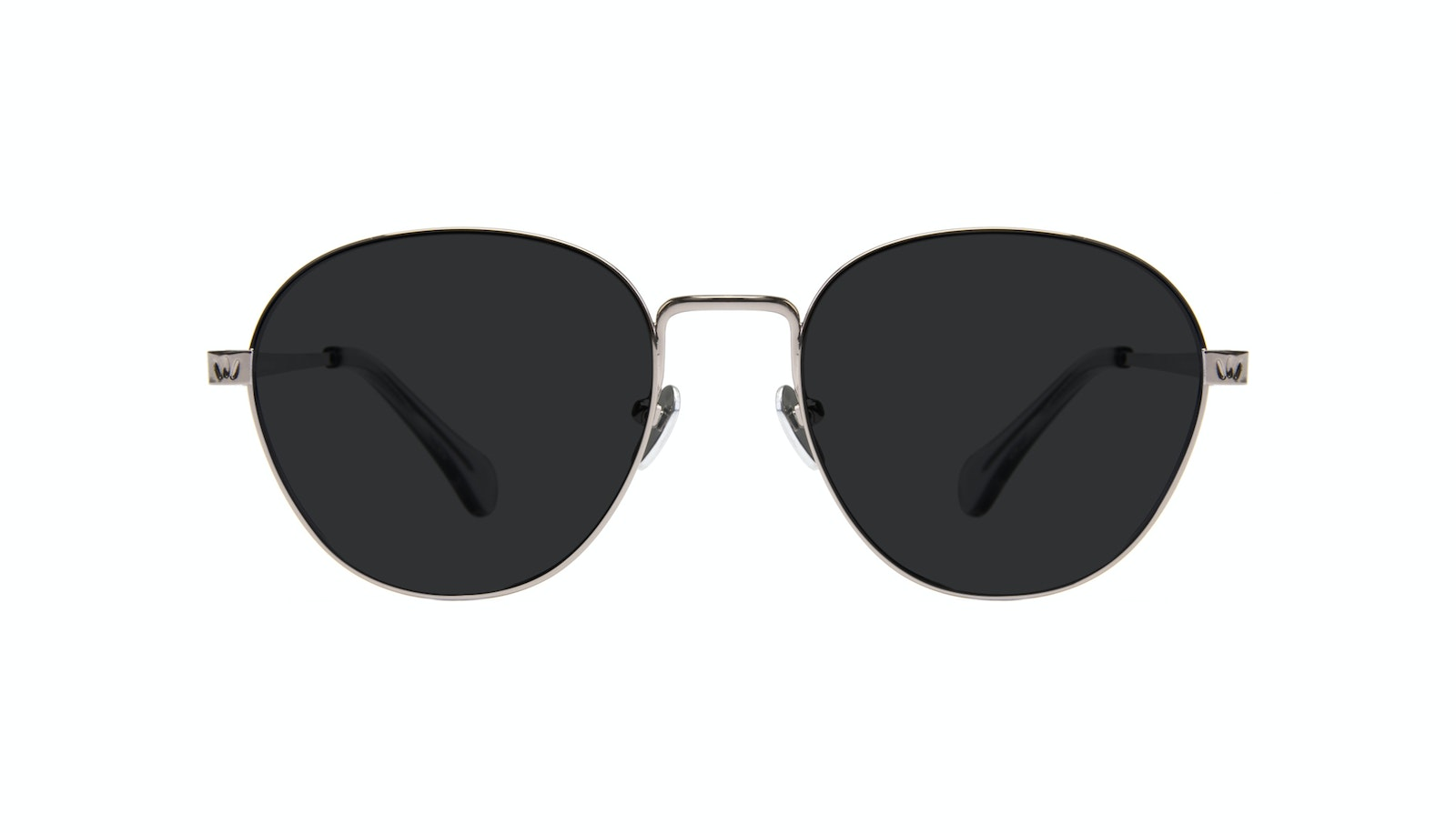 Affordable Fashion Glasses Round Sunglasses Women Brace Silver