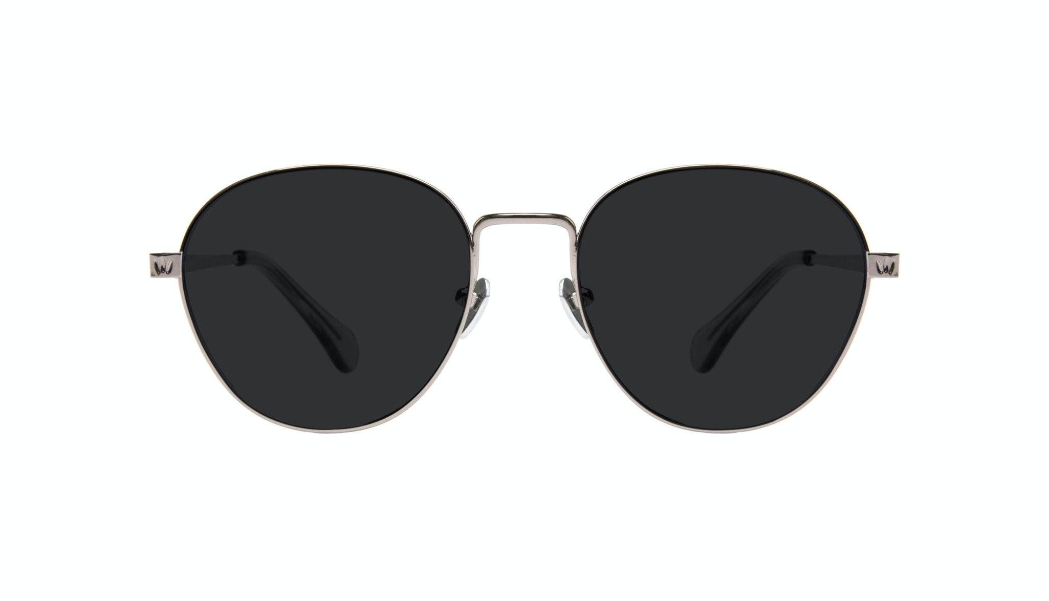 Affordable Fashion Glasses Round Eyeglasses Women Brace Silver