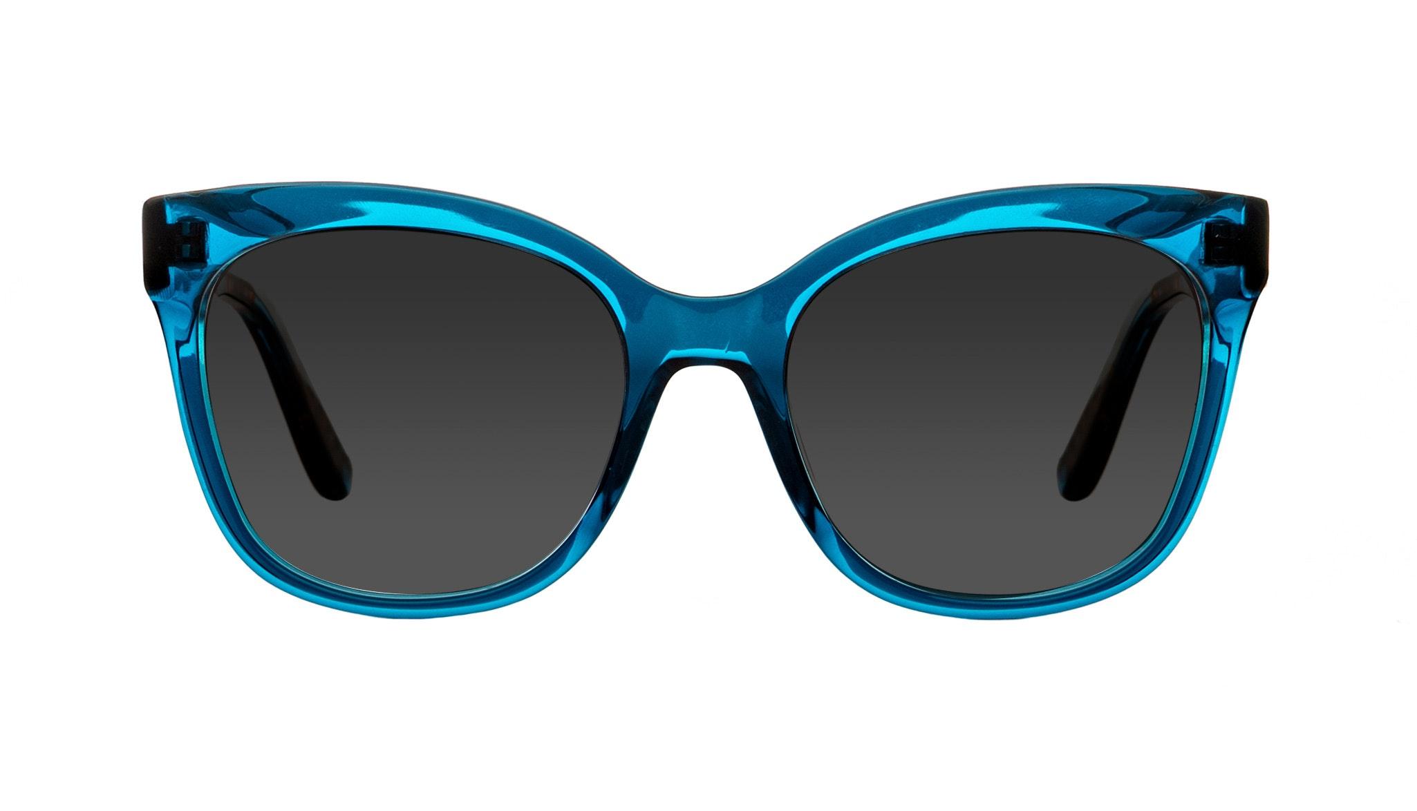 Lunettes tendance Rectangle Carrée Solaires Femmes Breezy Blue Wonder