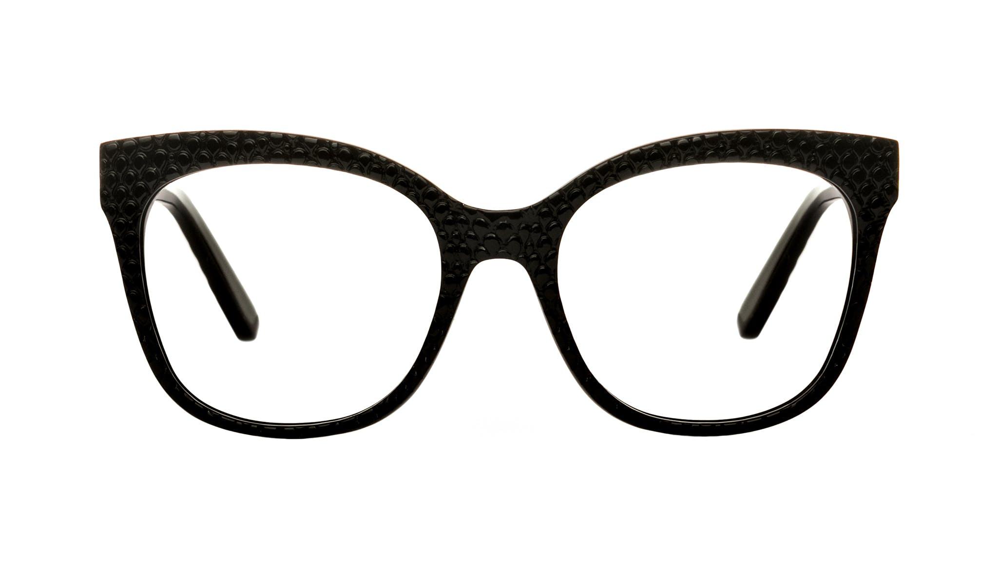 Affordable Fashion Glasses Square Eyeglasses Women Breezy Croco Front