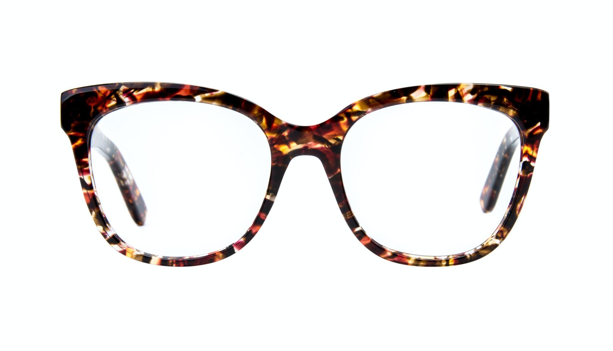 Affordable Fashion Glasses Square Eyeglasses Women Breezy Lava Front