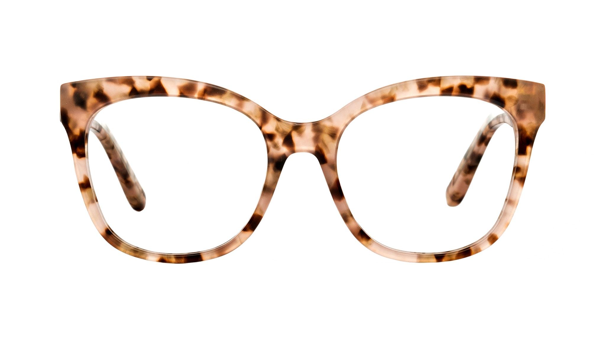 Affordable Fashion Glasses Square Eyeglasses Women Breezy Pink Leopard
