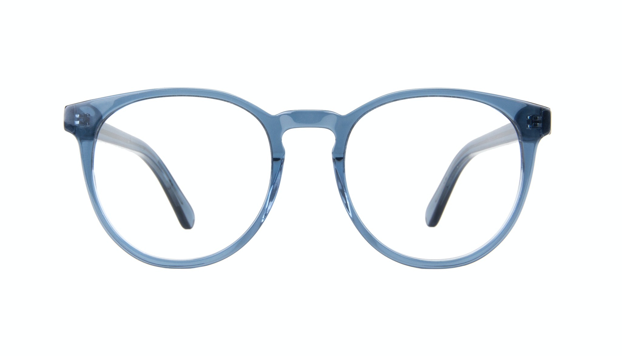Affordable Fashion Glasses Round Eyeglasses Women Brilliant Midnight