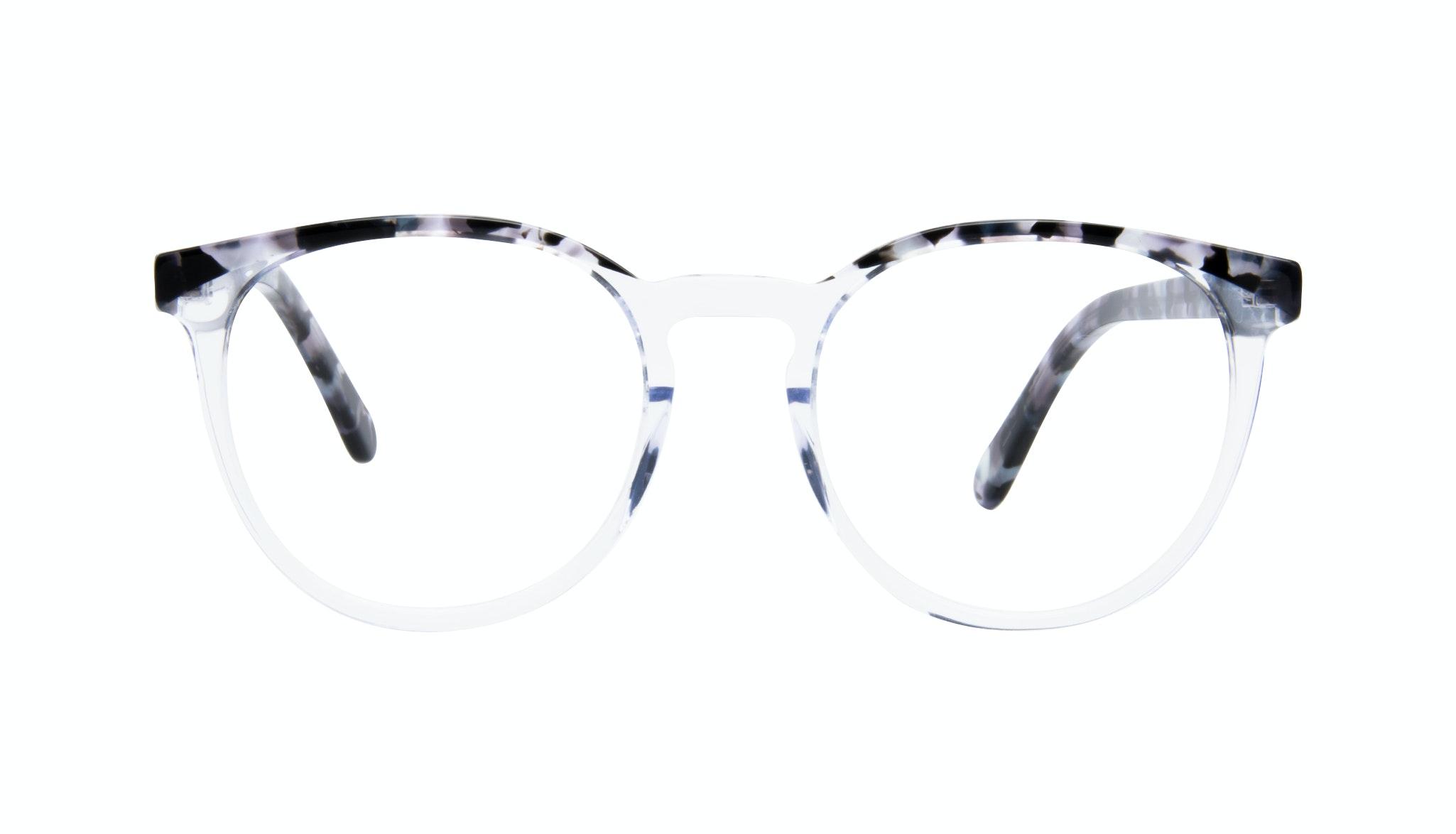 Affordable Fashion Glasses Round Eyeglasses Women Brilliant Cloud Front