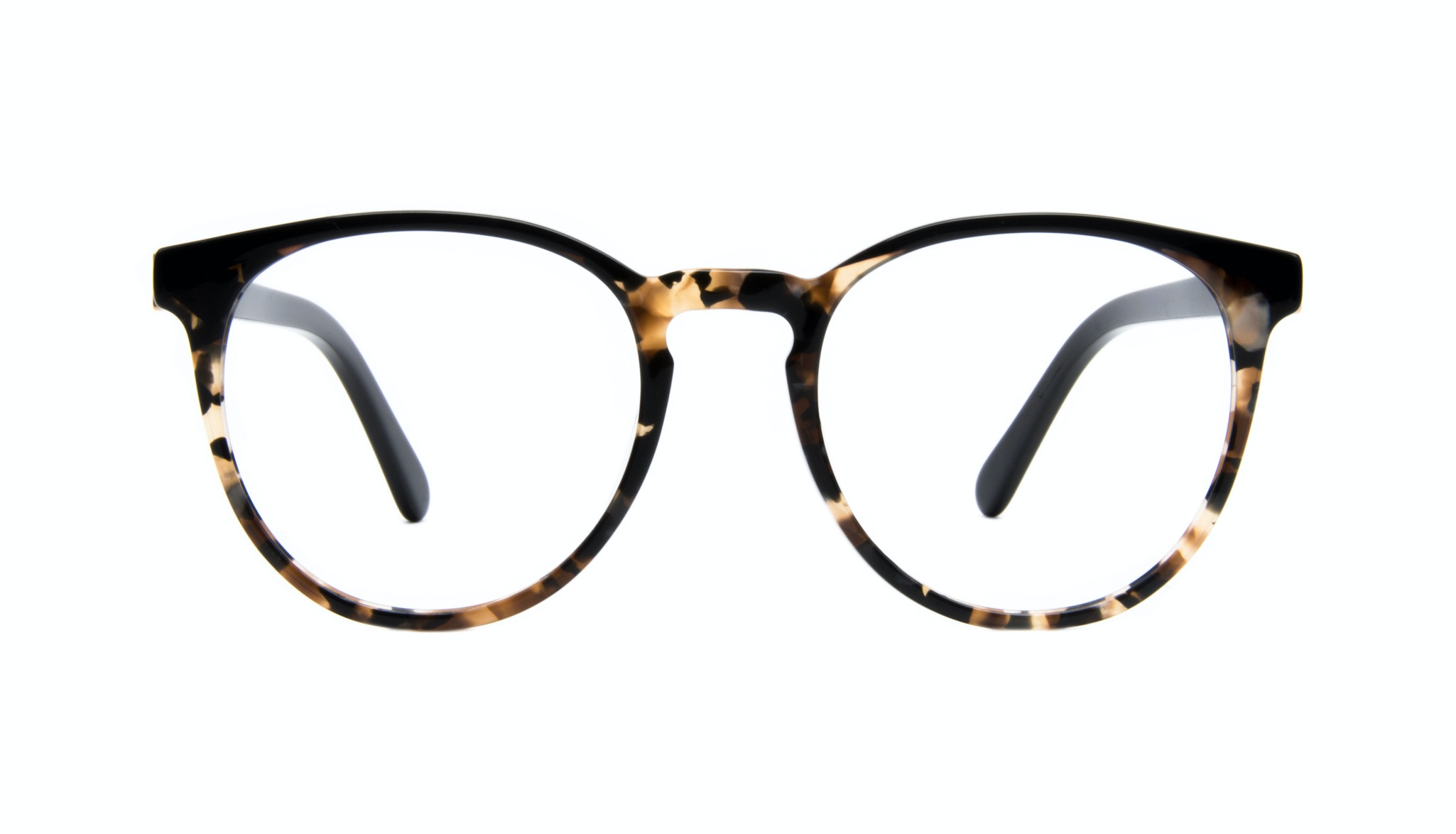 Affordable Fashion Glasses Round Eyeglasses Women Brilliant Dark Tortoise