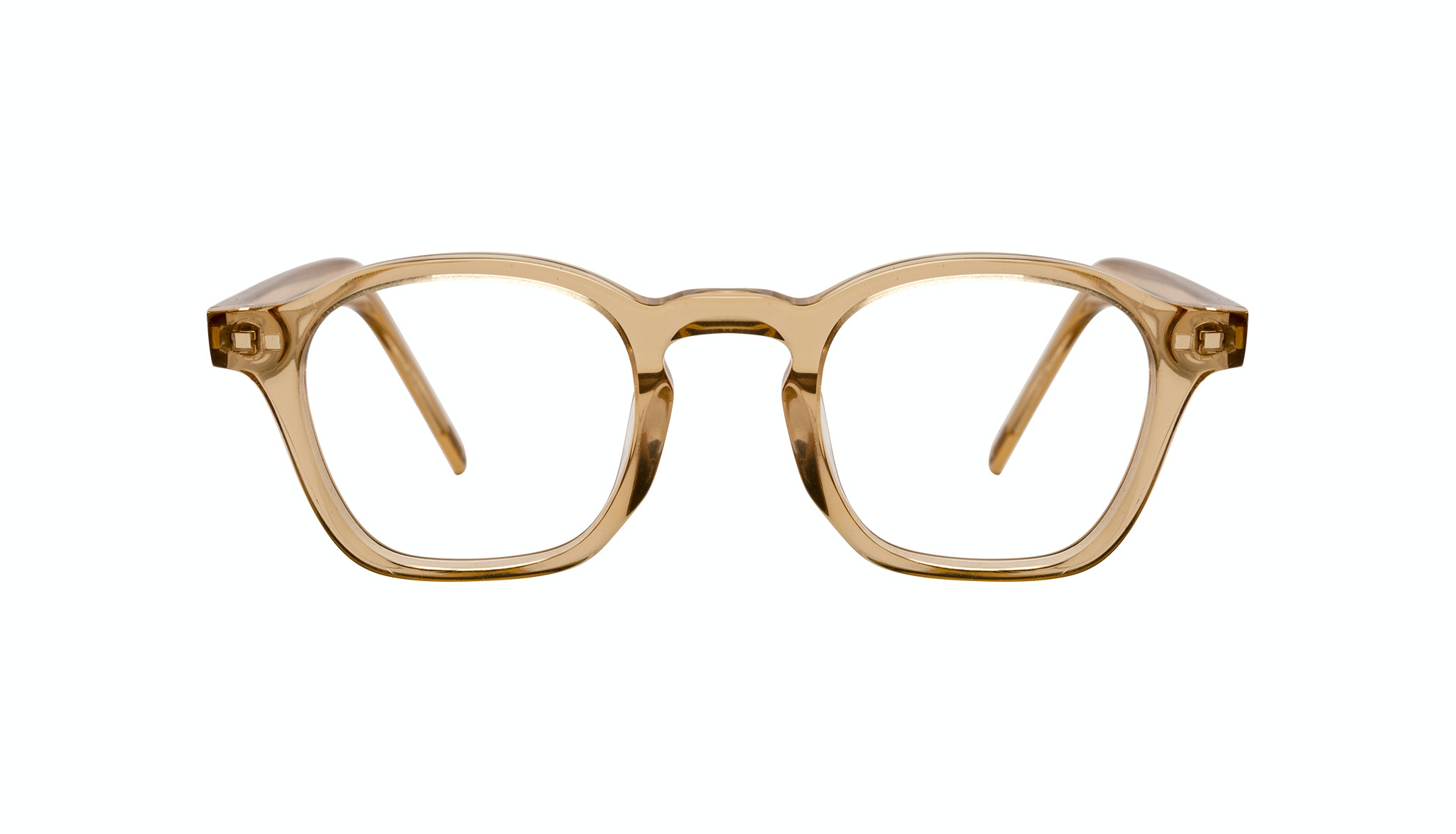 Affordable Fashion Glasses Square Eyeglasses Men Brisk Golden Front