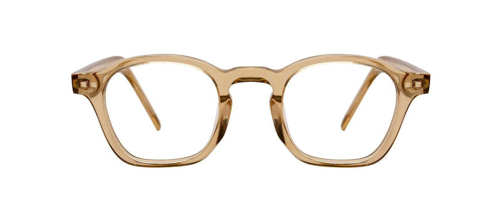 Lunettes tendance Carrée Lunettes de vue Hommes Brisk Golden Face