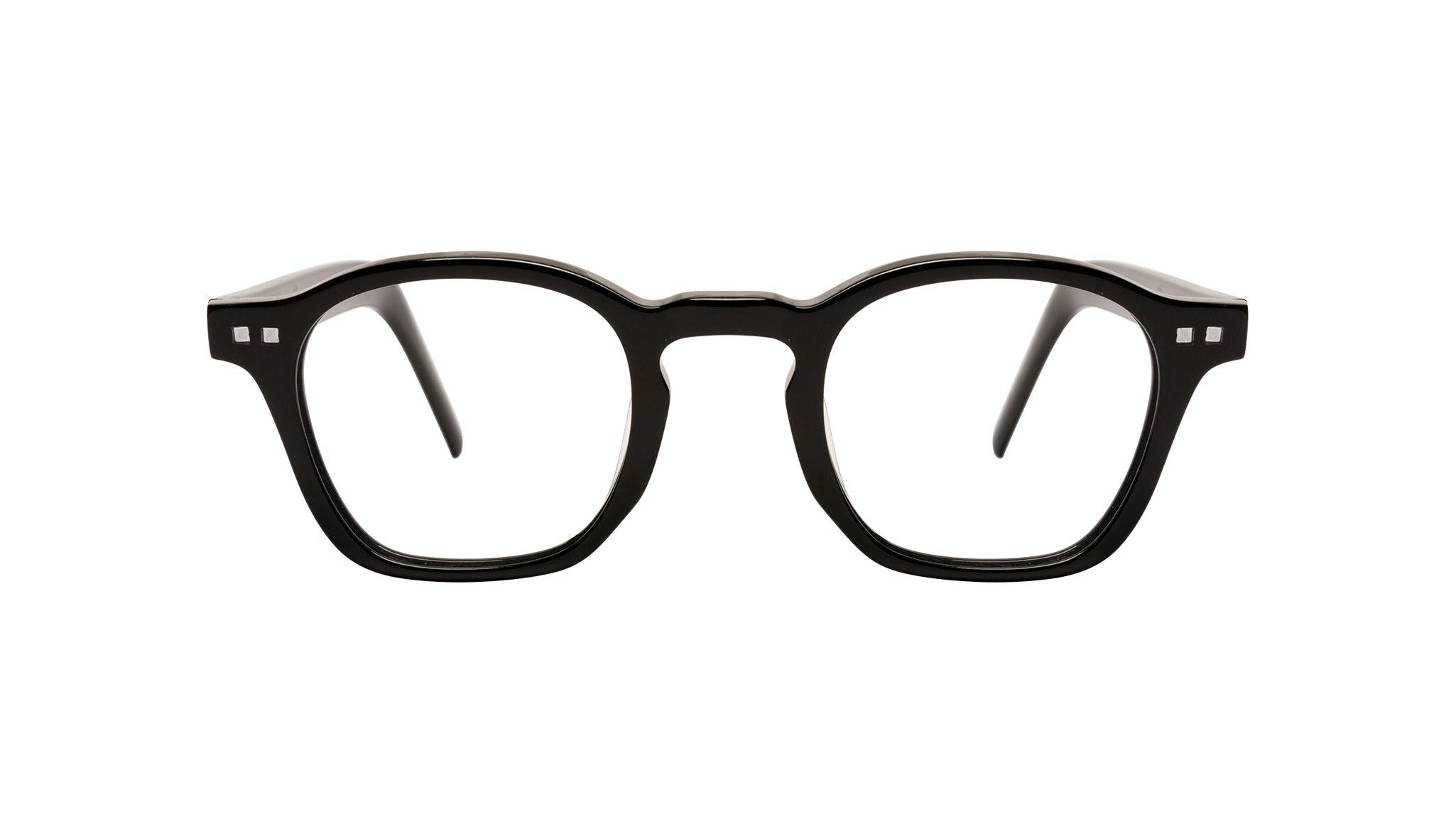 Affordable Fashion Glasses Square Eyeglasses Men Brisk Onyx Front