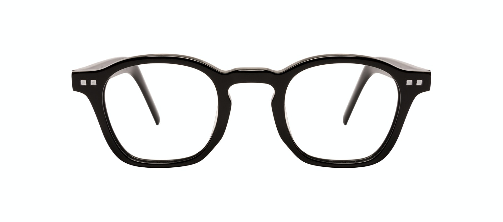 Affordable Fashion Glasses Square Eyeglasses Men Brisk Onyx Front