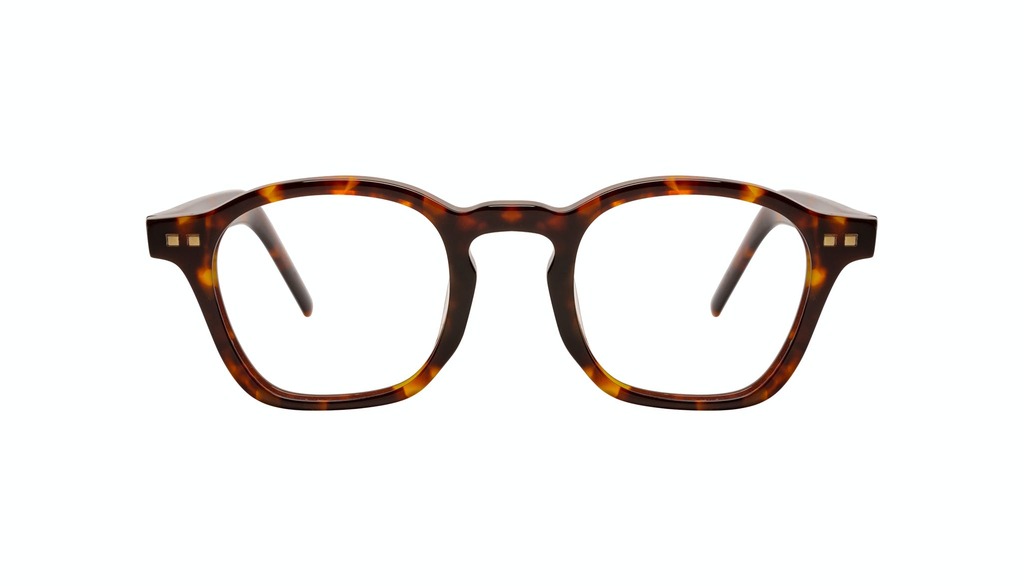 Affordable Fashion Glasses Square Eyeglasses Men Brisk Tortoise Front