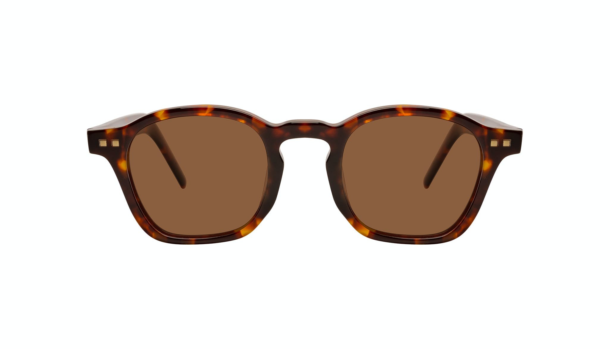 Affordable Fashion Glasses Square Sunglasses Men Brisk Tortoise Front
