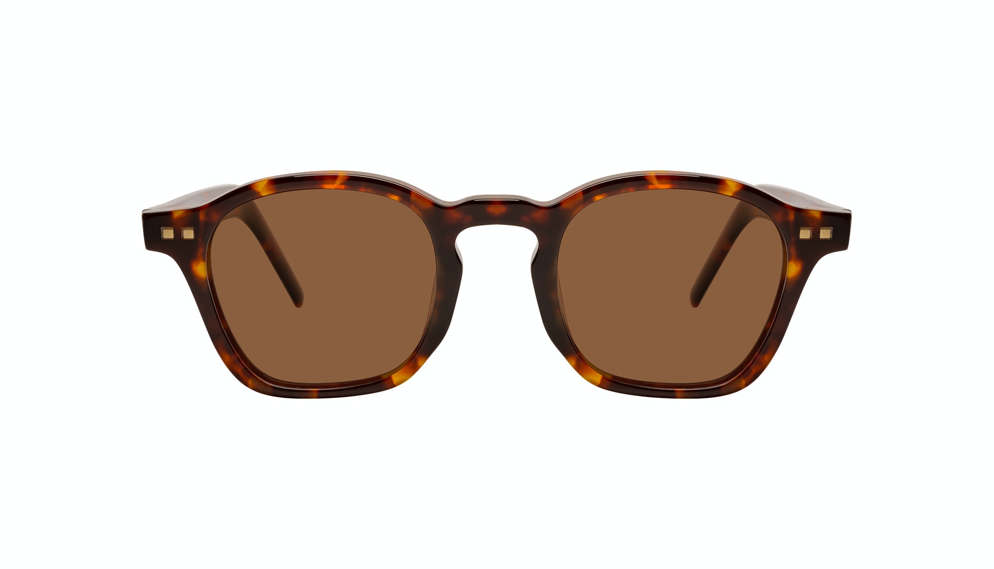 Affordable Fashion Glasses Square Sunglasses Men Brisk Tortoise Front