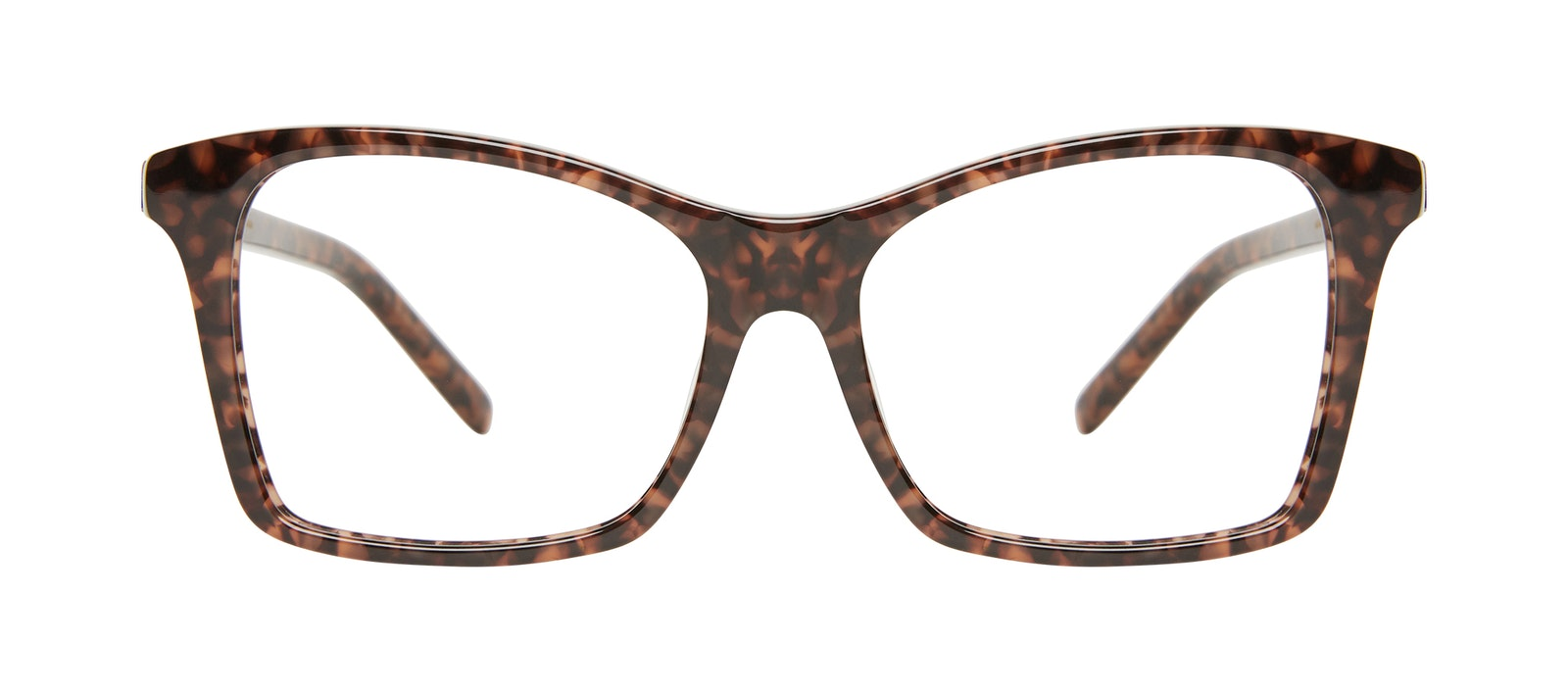 Affordable Fashion Glasses Square Eyeglasses Women Cadence Leopard Front