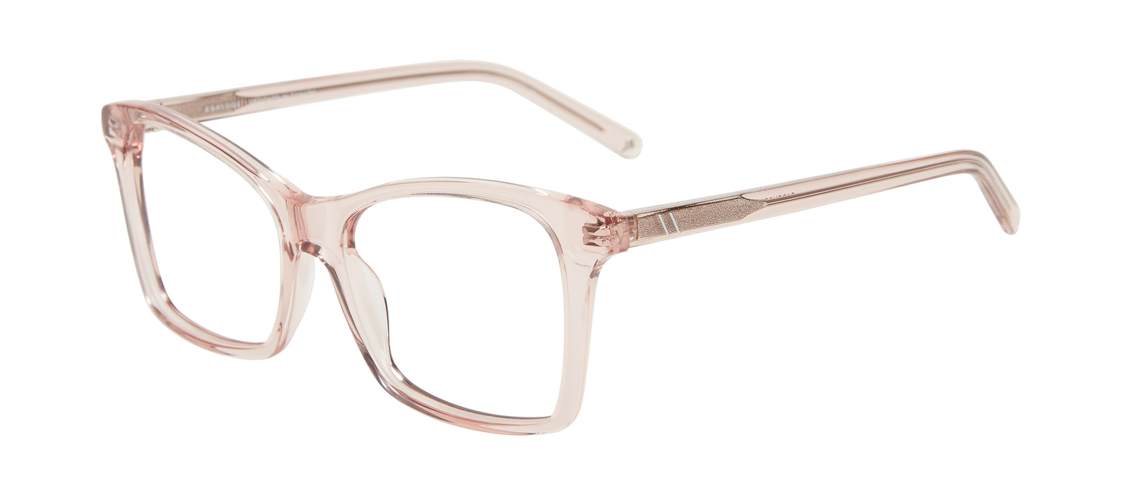 Affordable Fashion Glasses Square Eyeglasses Women Cadence Pink Tilt
