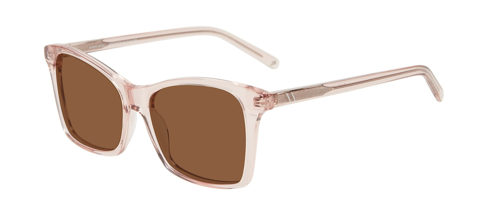 Affordable Fashion Glasses Square Sunglasses Women Cadence Pink Tilt