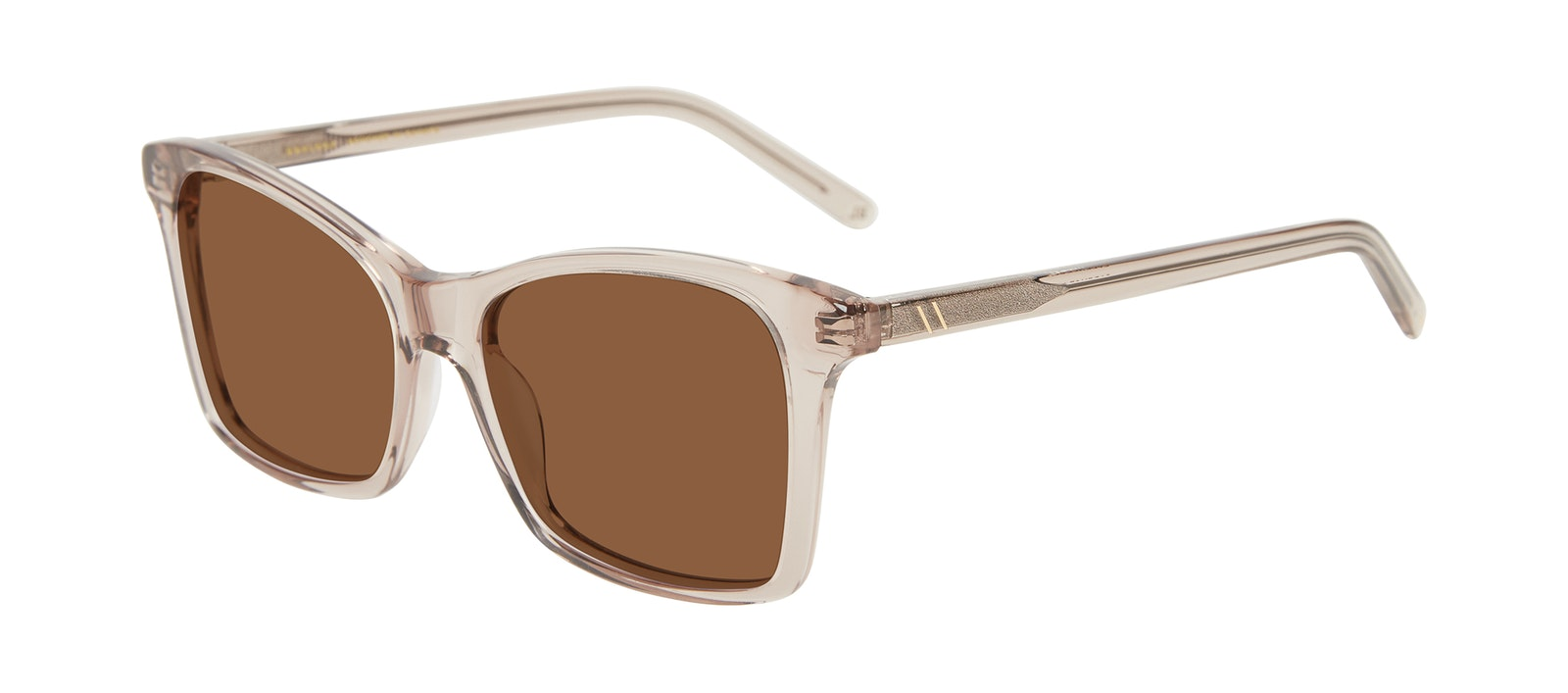 Affordable Fashion Glasses Square Sunglasses Women Cadence Sand Tilt