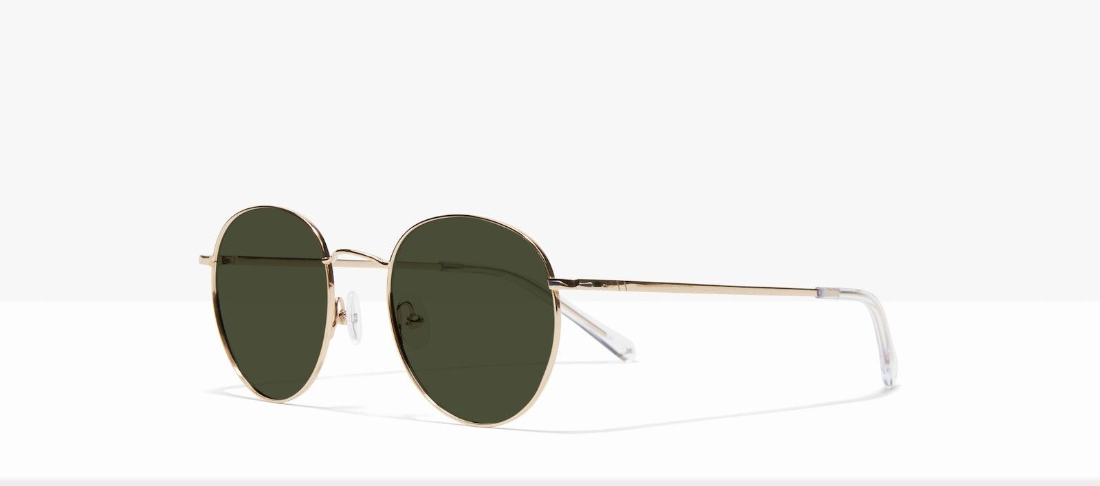 Affordable Fashion Glasses Round Sunglasses Women Calibre Gold Tilt